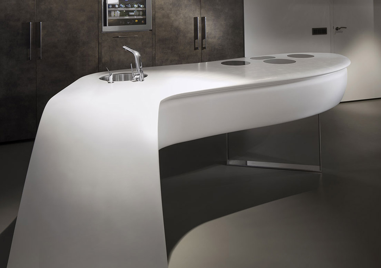 Lg Himacs Ivory White Solid Surface Kitchen Countertop Sampl Solid Surface Countertop Solid
